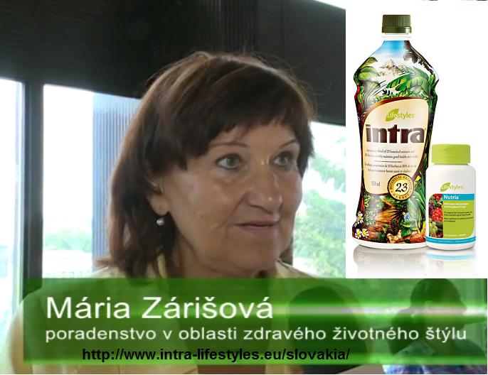 Mária Zárišová - byliny Intra, alternatívna liečba,